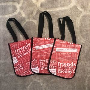 Lululemon Small Shopping Bags Set of 3